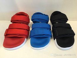 Wholesale Shoes Platform Sports - ADILETTE SANDAL W Sandals In The Summer Of Men's And Women's New Flat Magic Joint Sandals Leisure Sports Shoes Y-3 sandals, Free S