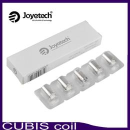 Wholesale Wholesales Joyetech - Joyetech Cubis BF ego aio Coils SS316 0.5 0.6 1.0ohm Clapton 1.5ohm Notch 0.25ohm For Cubis AIO Atomizer 0266115-1