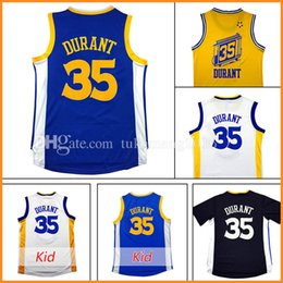 Wholesale Star T - Men's 35 Kevin Durant Basketball Jerseys Youth Kid's Embroidery 2017 All star Christmas Edition 35 Kevin Durant Jersey sleeve T-shirt