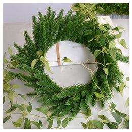 All'ingrosso-SZS Hot 20pcs / lot alberi di natale decorativi pianta di simulazione Fiore che organizza accessori muschio artificiale / aghi / cono (verde cheap wholesale green moss da muschio verde all'ingrosso fornitori