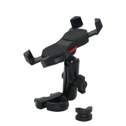 Wholesale Universal Motorcycle Handlebars - Universal Cell Phone Holder Phone Mount 9cm Arm Retractable Grip For Motorcycle Handlebars Or Mirror Clamp KPH-UX-9-U
