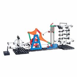 Wholesale Rapid Kit - Wholesale- SpaceRail New Level 3 232-3 8000mm Rapid Advancement Model Building Kit DIY Spacewarp Erector Set Roller Coaster Toys
