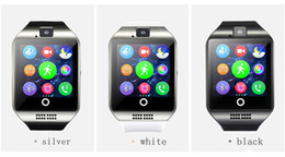Wholesale Newest Smart Phones - Newest Smart Watch Q18 with Touch Screen camera TF card Bluetooth smartwatch for Android and IOS Phone