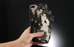Renda dura on-line-Lace flor sexy retro floral henna hard pc + tpu phone case para iphone x xs max xr 8 7 6 6 s além de