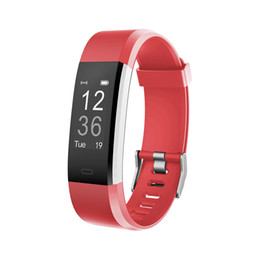 Wholesale Pet Red - Sports GPS Tracker Smart Bracelet ID115HR Plus IP67 Waterproof Smart Remote Control Sleep Monitor Smart Wristbands
