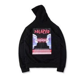 Wholesale Blue Brains - 2017 cool hot hip hop Palace Brain waves men unisex hoodie S to XL