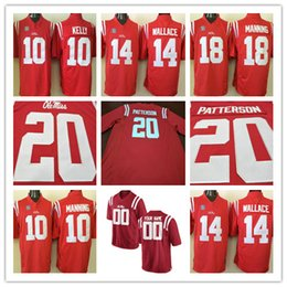 Wholesale Black Dk - Mens NCAA Ole Miss Rebels College #10 99 14 Victor Evans DK Metcalf 20 Shea Patterson 38 Marquis Haynes Red Stitched Jerseys S-3XL