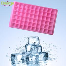 Пластиковые кубики льда онлайн-Delidge 1 шт. 60 отверстий квадратный лед плесень пластиковый бар напиток виски сфера 60 сетки льда плесень DIY льда куб лоток чайник