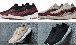 B ropa deportiva online-populares Lab Air Footscape Woven NM Training Sneakers Shoes, venta al por mayor 2016 nuevos hombres y mujeres Driving Shoes, calzado atlético Sportswear Shoes