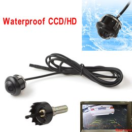 Wholesale Car Front Rear View Camera - High Sensitivity Waterproof CCD HD Night vision 360 degree car rear view front camera Parking Cam CAL_00E