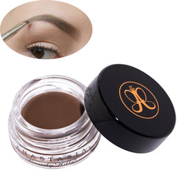 Wholesale Size New - 2017 New Eyebrow Pomade Eyebrow Enhancers Makeup Eyebrow 8 Colors With Retail Package