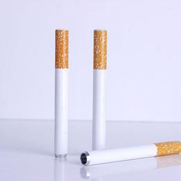 Deutschland Mini Metallpfeifen Pfeifen tragbare Zigarette Form Pfeife Tabakpfeifen Rauch Zubehör Awesome Cool Geschenke für Buddy Männer Großhandel Versorgung
