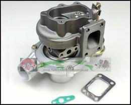 turbo-turbolader-kompressor Rabatt GT2860 float lager Wassergekühlten Turbokompressor Turbolader AR 0,60 AR 0,64 Turbine Für NISSAN S13 S14 S15 CA18DET T25 400HP