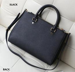 weiße pelzhandtaschen Rabatt M Mode Handtaschen Doppel Reißverschluss europäischen und amerikanischen Stil Kreuzmuster Schulter diagonal Paket Formel HJIA511
