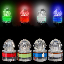 Wholesale Lure Lamp - Deep Sea Lamp Night Fishing LED Light Underwater Luring Multicolor Quick Fish Gathering Lights In The Water Trap Gear 6 5dk H1