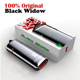 Wholesale Dry Herb Vaporize - Newest black widow fast heating 2200mah Ceramic Heat smoking device vape pen dry herb Black widow vaporize vs blk Black Mamba