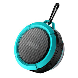 Wholesale Mobile Driver - Bluetooth 3.0 Wireless Speakers Waterproof Shower C6 Speaker with 5W Strong Driver Long Battery Life and Mic and Removable Suction Cup