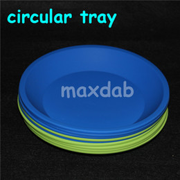 Wholesale Shatter Bho - 2016 DHL Silicone Mats Wax Jars Slick Pads NonStick Shatter Proof Dabber Tools Dab BHO Butane Honey Oil Vacuum Chamber Degassing Wax Dishes