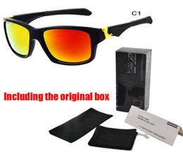 Wholesale Spectacle Frame Round - sports Brand sunglasses men spectacles Bicycle glasses 11 colors big sunglass sports cycling sun glasses oculos de sol Original accessories