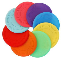 Wholesale Toy Flying Disc Boomerang - frisbee games Soft silicone disc children Boomerang flying saucer Safe toys kindergarten pupils outdoor