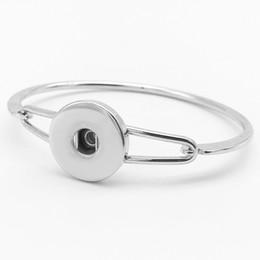Wholesale Wholesale Copper Brass Bangles - Copper Snap Charms Bangle for Women snap button bracelet (fit 18mm snaps)