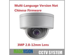Wholesale Indoor Ptz Dome Ip Camera - Hikvision DS-2DE3304W-DE IP Network Camera 3MP 4x Zoom 2.8~12mm Support POE IP67 PTZ Dome Camera English Version