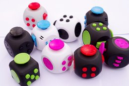 Wholesale Magic Gags - mens Decompression magic cube,anti anxiety decompression dice dice artifact side,decompression Hand Fidget spinner Toy,Desk Novelty Gag Toys