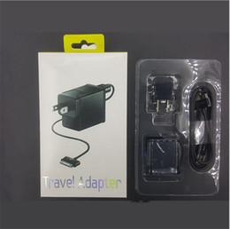 2019 carga del portátil samsung Para Samsung Tablet Cargador de pared con cable USB 5V 2A US EU Enchufe de Reino Unido Adaptador de alimentación adaptable para viaje Adaptador de carga para Galaxy Tab P1000 N8000 carga del portátil samsung baratos