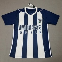 Wholesale Premier League Football Jerseys - Cheap thailand soccer jerseys 2018 west bromwich albion football shirt 17 18 BRUNT PHILLIPS jersey 2018 England Premier League soccer shirts