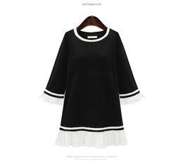 Para mujer vestidos de baile hojas primaverales de manga ajustada manga larga falda delgada código de vestimenta base de boda vestido de invitado desde fabricantes