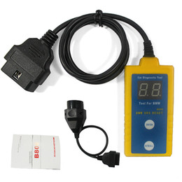 Wholesale Scanner Airbag Reset Tool - B800 Airbag SRS Reset Scanner OBD Diagnostic Tool For BMW OBD2 OBD II BMW 20Pin 20P