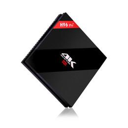 Argentina H96 Pro + 2G 3G DDR3 opción 16G 32G Flash 2.4G 5GHz Wifi HD2.0 4K cuadro Amlogic S912 Octa Core Android 7.1 BT4.0 caja de tv Android inteligente H96 PLUS Suministro