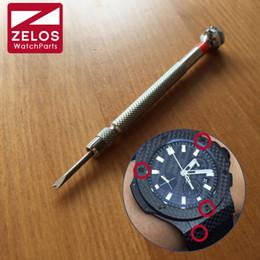 Wholesale H Screws - Wholesale- 2.0mm H screwdriver For remove HUB watch case bezel screw or change watch band  strap  belt