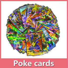 Wholesale Games Break - Free Shipping Poke Trading Cards Games Break Point English Edition Anime Pocket Monsters Cards Toys 100pcs lot