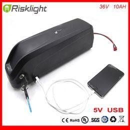 Wholesale Port Bike - Hailong 36V 10Ah Electric Bike Battery 36V 500W Lithium Battery with Charger USB Port BMS