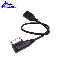 Wholesale Interface Music - Auto Plus Car Cable Music Interface AMI MMI to USB Cable Audio Adapter for A-udi A3 A4 A5 A6 A8 Q5 Q7 Q8 VW wholesale price