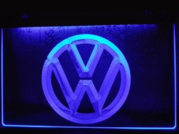 Wholesale Cars Commercial - LG145b- Volkswagen VW Car Logo Services LED Neon Light Sign