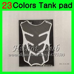 Wholesale Cap Cbr - 23Colors 3D Carbon Fiber Gas Tank Pad Protector For HONDA CBR1000RR 15 16 17 CBR 1000 RR 1000R CBR1000 RR 2015 2016 2017 3D Tank Cap Sticker