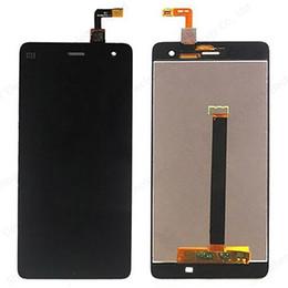 Piezas de reparación para xiaomi mi 4 m4 mi4 Pantalla LCD + Pantalla táctil digitalizador Reemplazo del teléfono celular Asamblea Blanco negro Envío gratis desde fabricantes