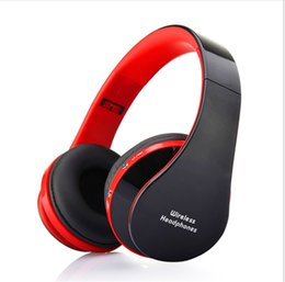 Wholesale Band Bass - Foldable Bluetooth headsets VORALD06 Stereo wireless headphones support microphone deep bass Multicolor Tri-band equalization free shipping
