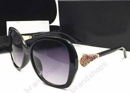 Wholesale Eyes Frames Cat - 2017 New arrival Novel Goggle Outdoor brand designer Eyewear Sunglasses lady women black shade Fashion Retro sun glasses with original case