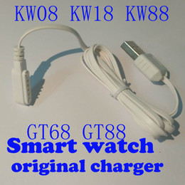 usb charger magnet Coupons - original kingwear Smart Watch magnet Charger Cable usb charger charging for gt88 gt68 KW08 kw18 kw88 smartwatch