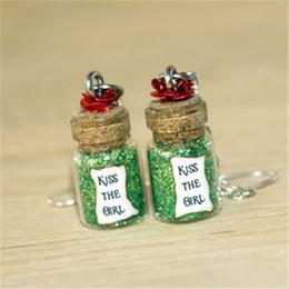 Wholesale Mermaid Stud Earrings - 6pairs Little Mermaid, Kiss the Girl dangle Earrings, Love Song dangle earrings