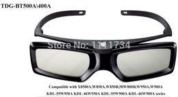 2019 sony tvs Atacado - Frete grátis Genuine TDG-BT500A TDG-BT400A Óculos 3D ativos para Sony TV sony tvs barato