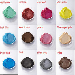 Wholesale Arts Crafts Pearls - BUYTOES colorful pearl powder pigment paint coating Automotive Coatings ceramic art crafts coloring dye 100g per pack