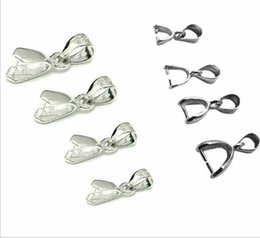 Wholesale Lobster Claw Charm Hook - 925 Sterling Silver Lobster Claw Clasps Pendant Clasp Pinch Charm Connector Clasp Pendant   Findings   Bright   PlatinumFor DIY Craft Dec