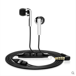 Wholesale Mic Phone Control Talk - hot sell Headset noise Cancelling ear canal phone earphone with Mic Control Talk Earphone for iPhone6 7