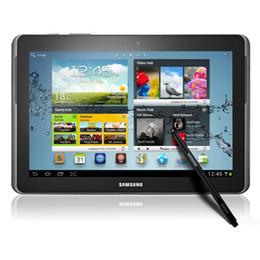 Wholesale Note 2g Ram - Refurbished Original Samsung Galaxy Note 10.1 inch N8000 GT-N8000 16GB WiFi + 3G Quad Core 2GB RAM 5.0MP Camera Unlocked Android Tablet PC