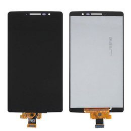 Wholesale Big Screen Lcd - Digitizer + LCD Fused Assembly for LG G Stylo LS770 H634 w  Silver Frame Replacement Parts big ic