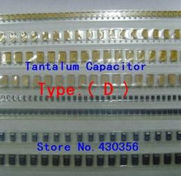condensatori tantalio Sconti Wholesale- 10PCS Tantalum Capacitor 7343 Tipo: D 156 15UF 35V